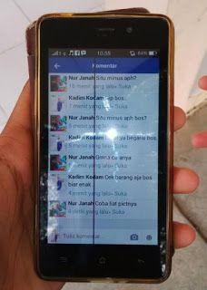 LCD atau layar HP android bergaris, salah satu jenis kerusakan LCD HP android