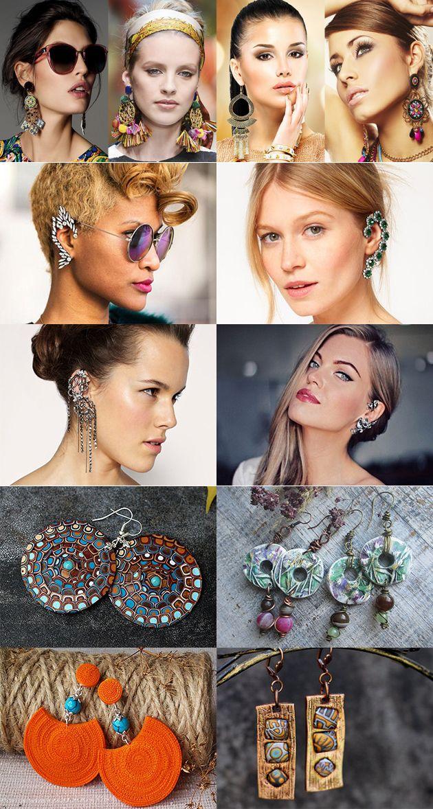Модные серьги 2017: тенденции ювелирной моды — Модно / Nemodno