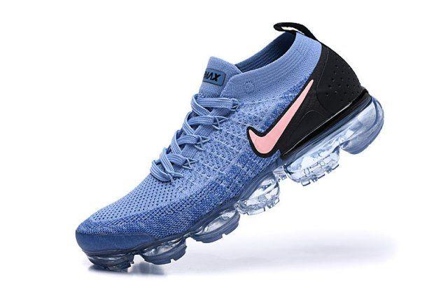 dbbf3342bb Nike Air Vapormax Flyknit 2 Gym Blue Men's Running Shoes 942842-401 -  NikeMaxZone.com