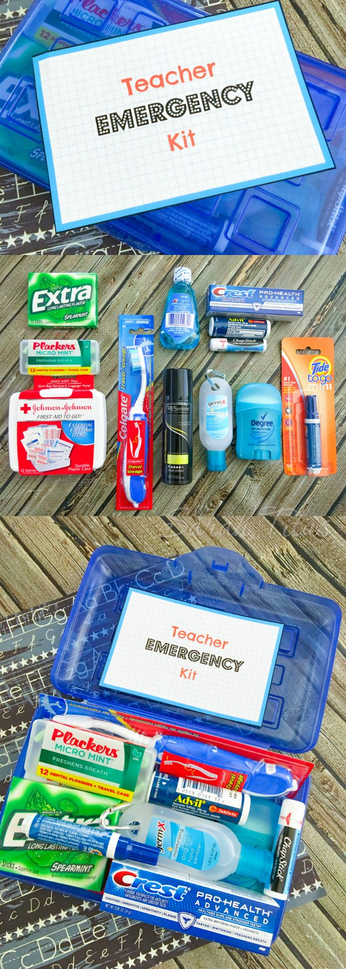 This teacher emergency kit has GOT TO BE THE most useful & practical back to…