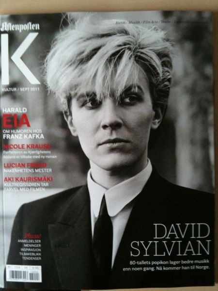 David Sylvian...i gotta be true to my classic guys!