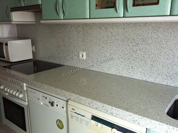 Encimera de cocina silestone encimeras silestone - Encimeras de cristal para cocinas ...