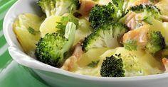 Kartoffel-Brokkoli-Gratin mit Räucherlachs ist ein Rezept mit frischen Zutaten aus der Kategorie Kochen. Probieren Sie dieses und weitere Rezepte von EAT SMARTER!
