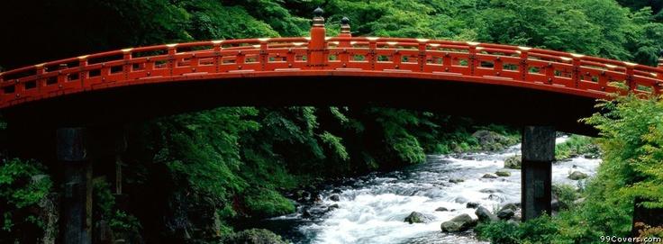 The Sacred Bridge Of Futarasan Shrine
