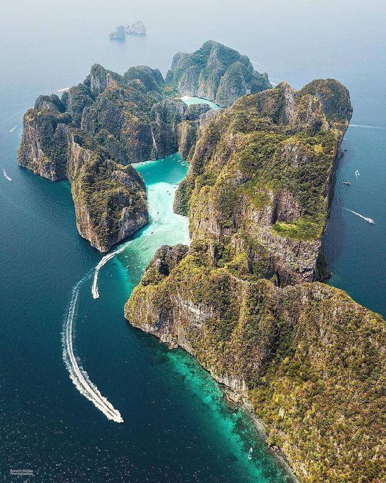 Ilha Phi Phi Leh, Tailândia #thailand #travel #Aventura #Férias #Férias, #   – ferien