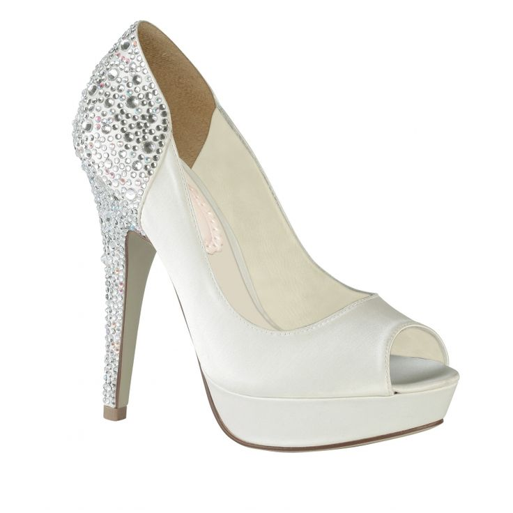 Pink Paradox Paradox Pink Starry Ivory Wedding Shoes