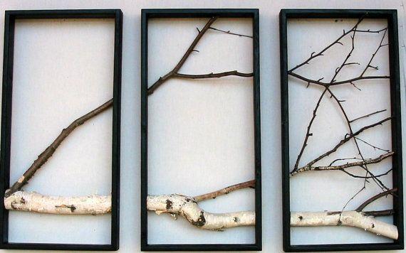 Etsy.  Birch Branch Wall Hanging