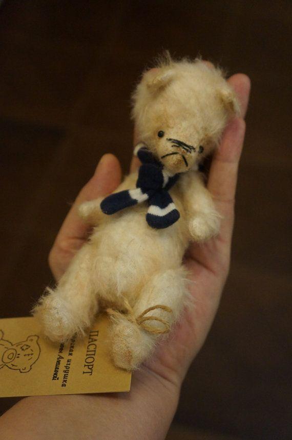 Handmade Remembrance Memory Keepsake Bear by RussianshawlRustic