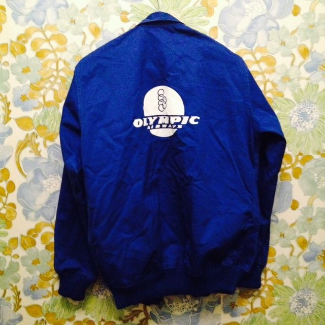 Collector's item Olympic Airways jacket