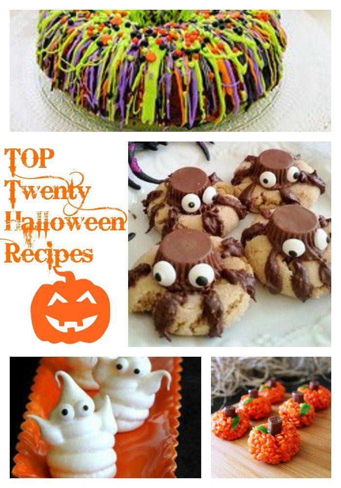 Top 20 Halloween Recipes