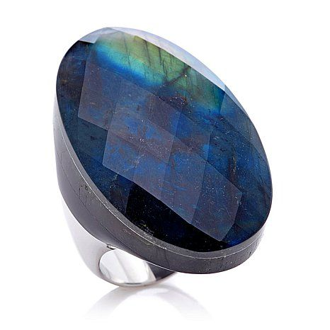 Colleen Lopez Gemstone Triplet Sterling Silver Ring