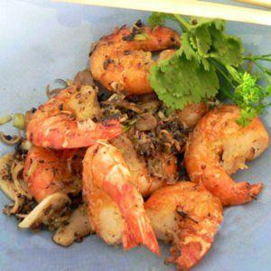 Crevettes sautées au poivre et sel : 35 recettes chinoises - Journal des Femmes Cuisiner