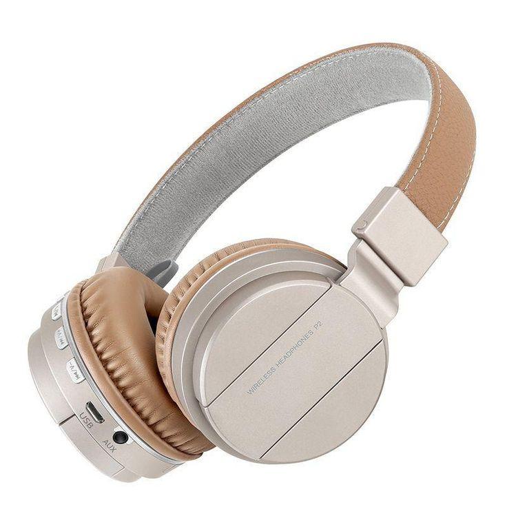 Sound Intone Wireless/Bluetooth Headphones with Mic