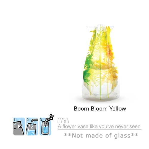 Collapsible Flower Vase - Bloom-Yellow $8
