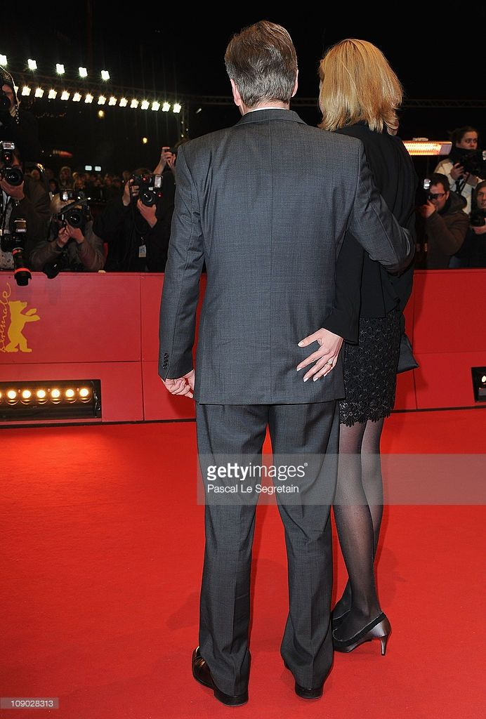 German President Christian Wulff and German First Lady Bettina Wulff attend the 'Almanya - Willkommen in Deutschland' (Almanya) Premiere during day three of the 61st Berlin International Film Festival at Berlinale Palace on February 12, 2011 in Berlin, Germany.