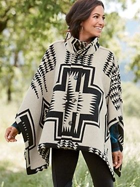 Reversible Chaparral Cape by Pendleton