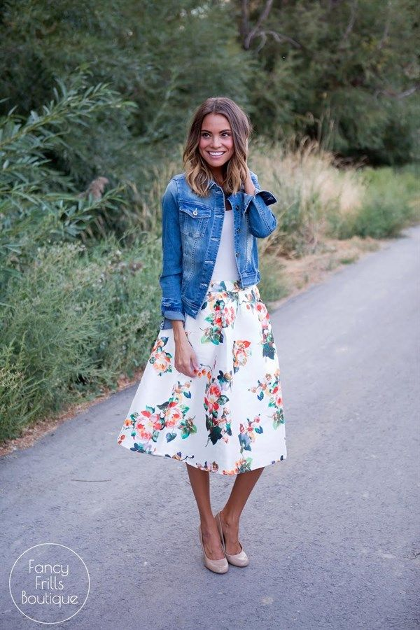 Fall may bring cooler weather but you will be looking hot hot hot in this floral…