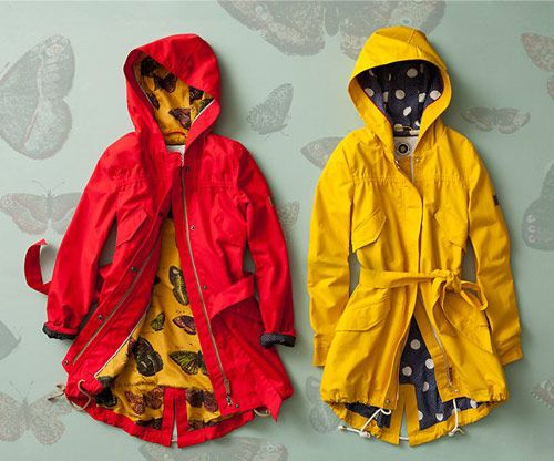 I bought that red raincoat at Anthro's Black Friday sale, and it is the best and warmest coat ever!
