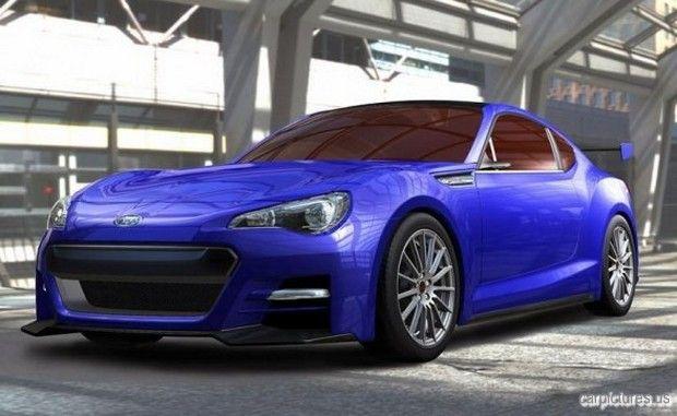 Subaru BRZ Concept – STI