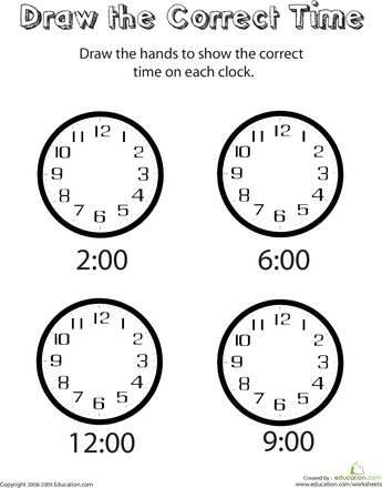 Best 25+ Correct time ideas on Pinterest Drinking water - time worksheets