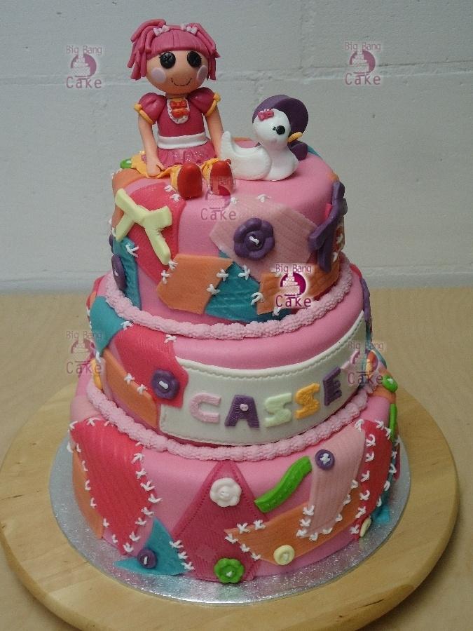 Lalaloopsy Cake Gâteaux Sweet Tables Pinterest