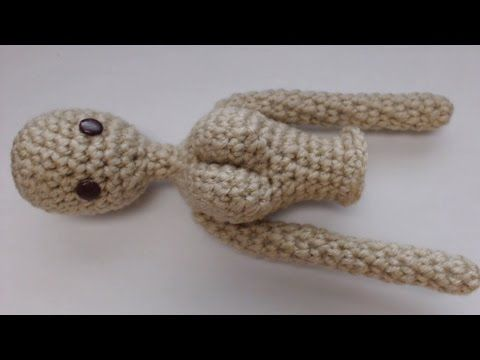 DIY Muñeca Charlotte Parte 3 amigurumi crochet/ganchillo (tutorial) - YouTube