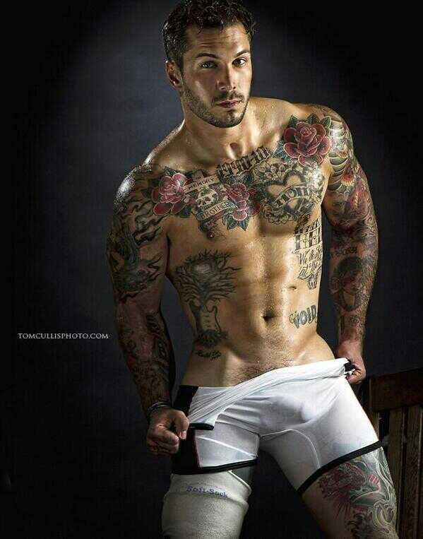 So Yeah uh his tattoos.... That's all I'm looking at.... ;-)