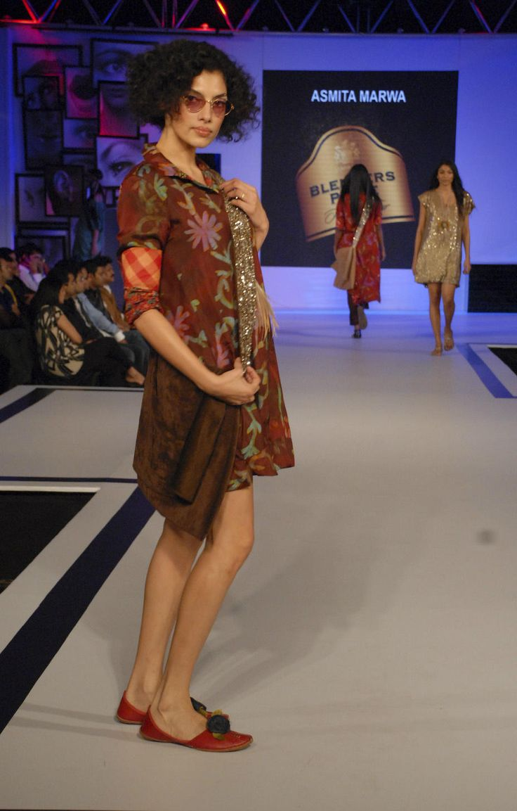 Asmita Marwa at BPFT2012 wants you to go dandy! Are you still looking for a reason?