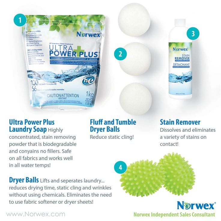 how to clean norwex cloths without norwex detergent