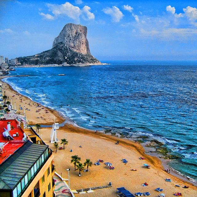 Calp, Valencia, Spain