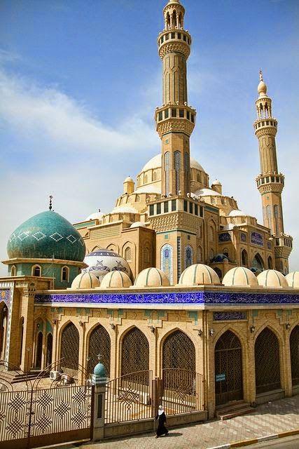 Jalil Al Khayat Mosque in Erbil, Iraq