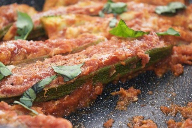 Zucchine ripiene vegan - Fidelity Cucina