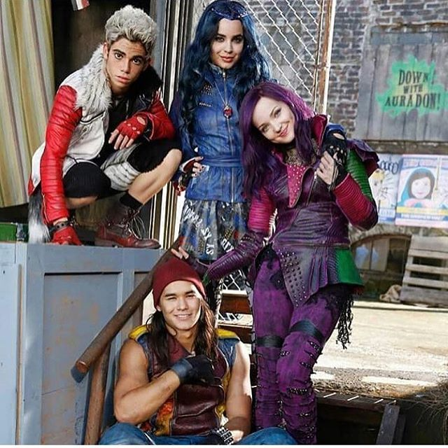 Hope you guys loved reliving the amazing #DisneyDescendants tonight on #Disney during #100DCOMs. Don't forget to get the soundtrack on iTunes. #Descendants2 coming in 2017  #DisneyChannel #Descendants