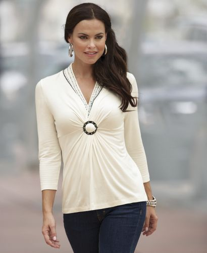 Gathered top from monroe and main www monroeandmain com