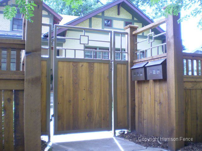 Craftsman Fence Designs Google Search Home Is Where
