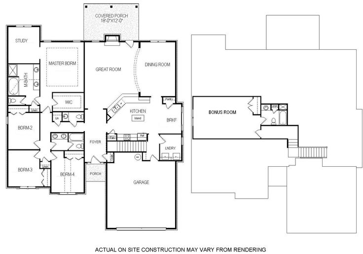 1000 images about bill beazley floor plans on for House plans one story with bonus room