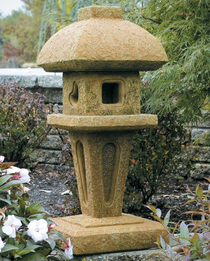 Jasmine Stone Pagoda. Garden OrnamentsJasmineOriental