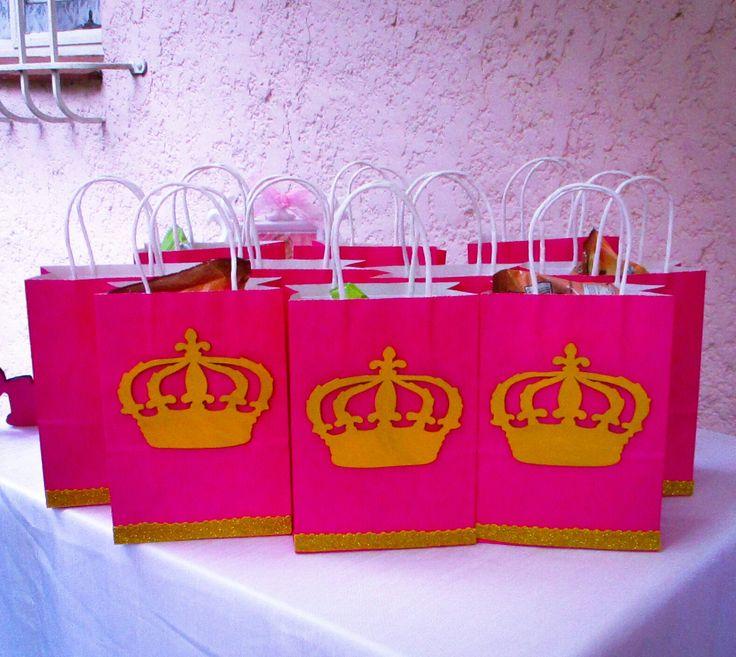 Princess party favours  Princess party bags for a Princess party Princess Party Packs