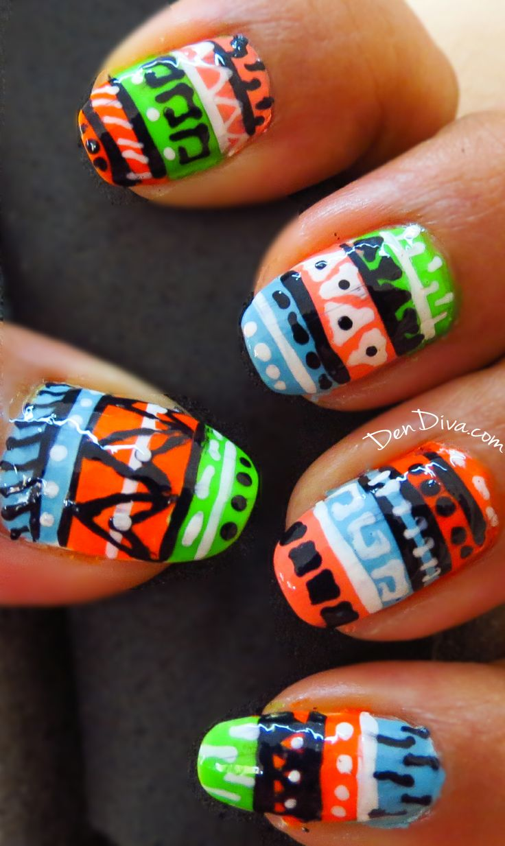 About baby boomer nail art tutorial by nded on pinterest nail art - Step By Step Tutorial With Photos How To Do This Cool Nail Art With Minimum Nail Art Tools