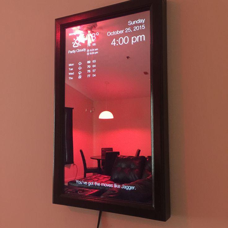 Magic Mirror | Electronics gadgets, Diy tech, Smart