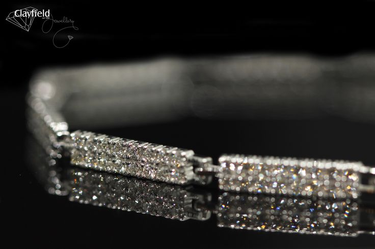 Micro set diamond bracelet by Clayfield Jewellery in Nundah Village, North Brisbane