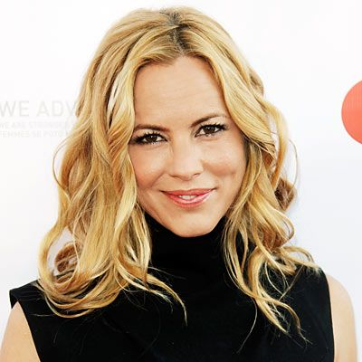 Maria Bello. Perfect style and wave.