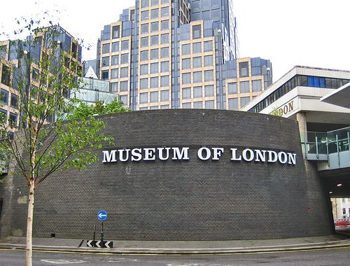 Museum of London, if I find something and don't know what it is, I go along to the Museum of London, which offers a free identification service.