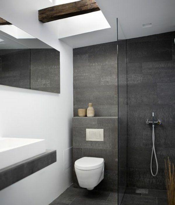 Die besten 25+ helle Badezimmer Ideen auf Pinterest | Mädchen ... | {Badezimmer fliesen schiefer 59}