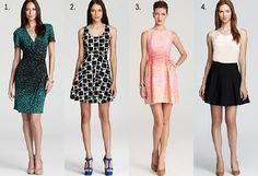 Dresses and Skirts for Pear-shaped women