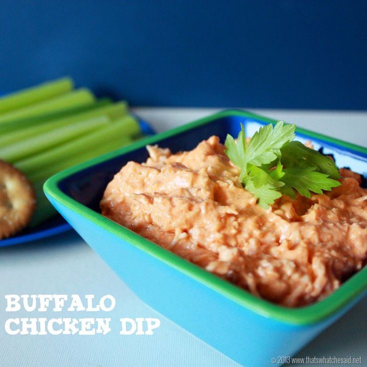 Buffalo Chicken Dip Recipe from That's What Che Said