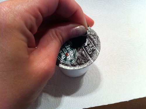 How to clean out the cups