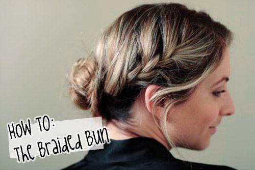 Hair Tutorial: Chignon intrecciato - Accidiosa V | #braid #bun #hairstyle #howto