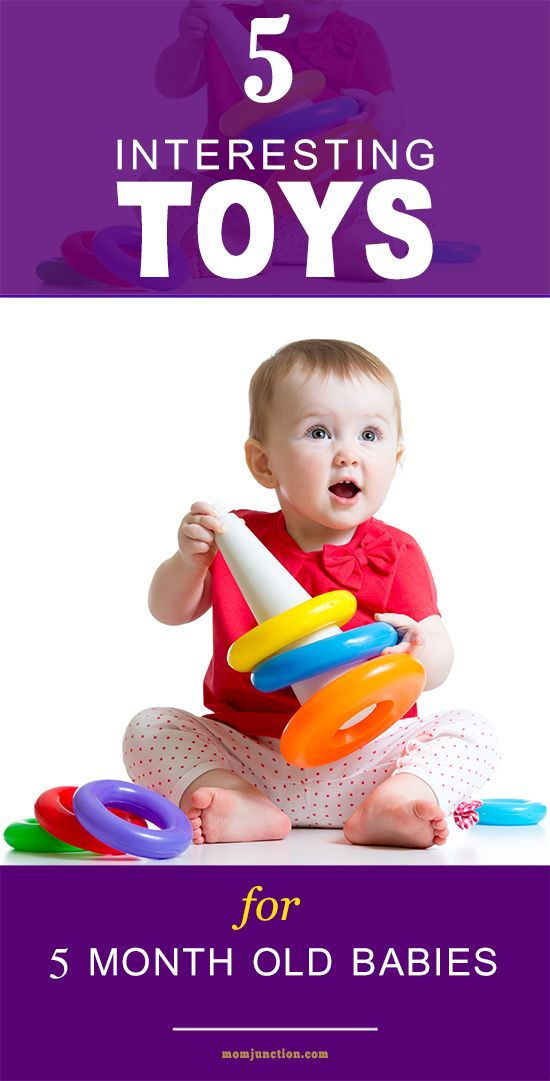 15 Interesting Toys For Your 5 Month Old Baby | Toy and Babies