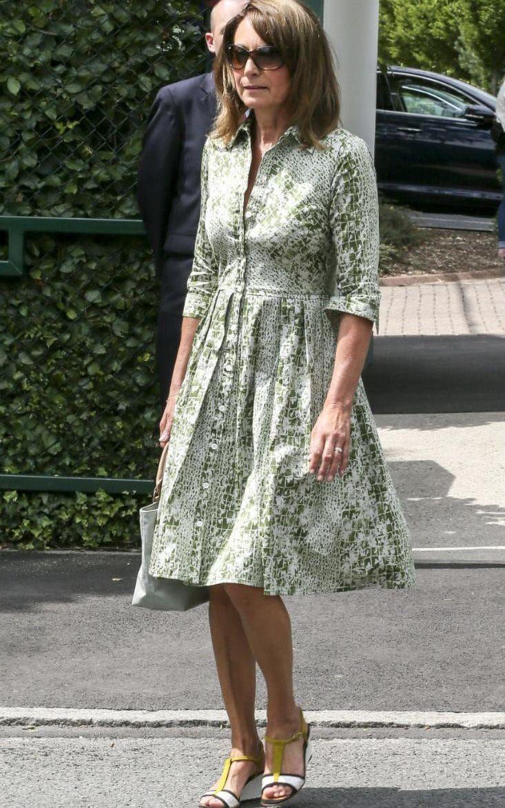 Carole Middleton Wimbledon Tennis